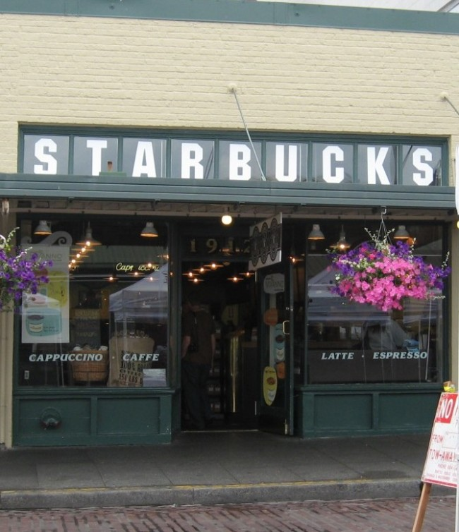 Ensimmäinen Starbucks