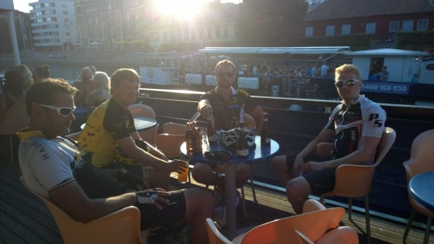 Post Ride Bar